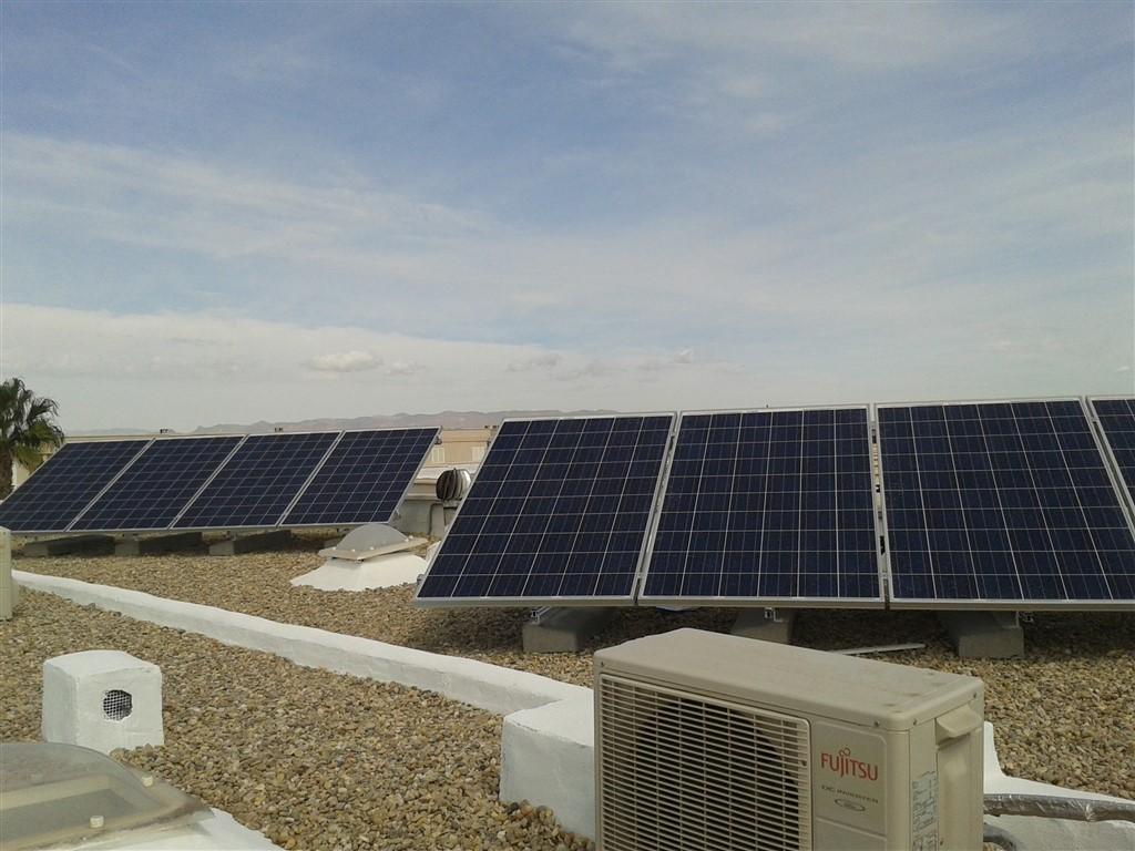 Fotovoltaica para autoconsumo en almer a albedo solar for Instalacion fotovoltaica conectada a red
