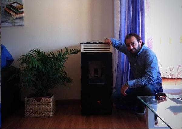 Instalaciones de biomasa en almer a albedo solar for Estufa pellets pequena