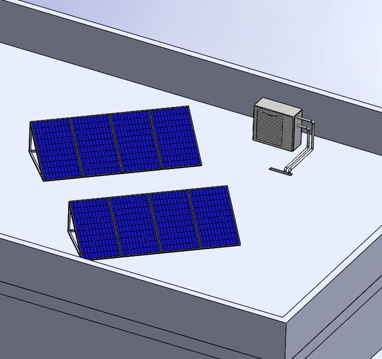 Fotovoltaica y aerotermia albedo solar - Placas de calor ...